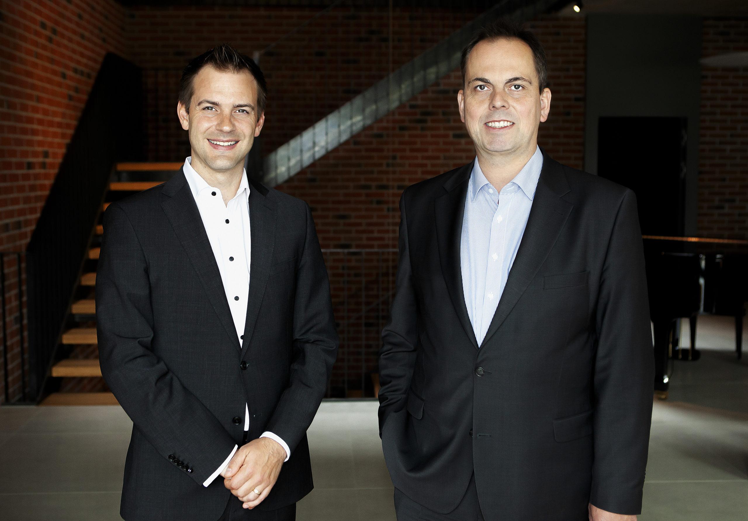 Philipp Karbach und Dr. Friedrich Tegel